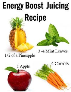 Energy Boost Juicing Recipe - Easy and Tasty!  ------------------  Share your Organic Recipes =>  http://www.farmerspal.com/organic-lifestyle/recipes/page/1/