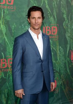Actor Matthew McConaughey attends the premiere of Focus Features' 'Kubo and the Two Strings.'