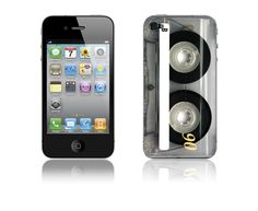 Cassette decal for iPhone 4 @ sportskins on Etsy $10.00