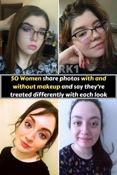 """Whether or not to wear makeup is a very personal choice. Some people think it's """"false advertising"""" while others think they look more like their true selves with makeup on. When a Quora user asked women if they were treated differently with vs. without makeup the answer was usually a resounding YES – and their descriptions are shocking. While most women stated that they wear makeup for themselves in order to enhance their own confidence, it's pretty clear that the rest of the world has some… False Advertising, Without Makeup, Some People, Things To Think About, Product Description, How To Wear, Women"""