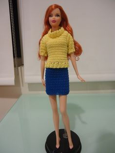 This hub is about crafting clothes for Barbie, whether you can sew, crochet, knit, or even with just some duct tape. It will also include some links for more details on these ideas.
