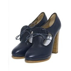 karen walker navy heels - Google Search