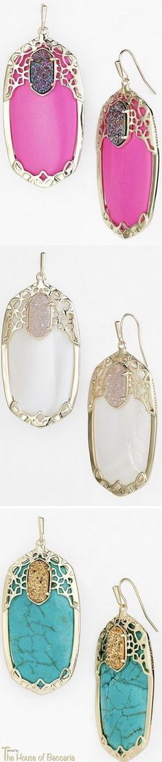 ~Kendra Scott Earrings | House of Beccaria#