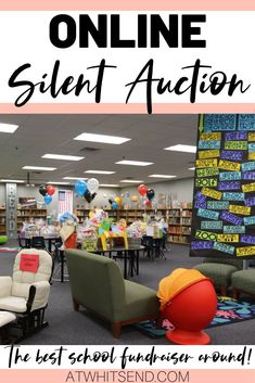 When it comes to elementary school fundraising ideas, the best you CAN do is an online silent auction. This post will give you ideas for how to run, set up, and display your own silent auction. FREE forms to collect donations, ideas for gift baskets, and other auction items and printables, plus tips and tricks from a school that has run a very successful auction for over 10 years in a row. These ideas will also work if you are a nonprofit or church looking to host your own silent auction