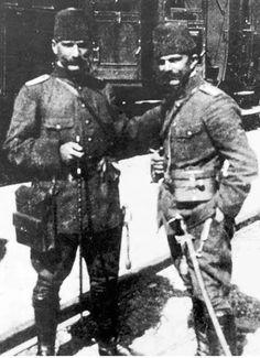 Mustafa Kemal Atatürk #ataturk during the Independence War in 1920