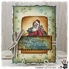 tammytutterow | Santa With Stars Card 1