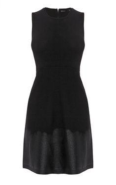SHINE PRINT DRESS   Luxury Women's leather   Karen Millen