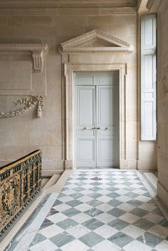 Architecture House Discover Paris Photography - Versailles Door at Le Petit Trianon France Travel Photography French Home Decor Large Wall Art Elegant Home Decor, House Design, House, Interior, Home, Elegant Homes, Foyer Decorating, Versailles, French Home Decor