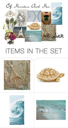"""""""We Sink"""" by bubybooh ❤ liked on Polyvore featuring art"""