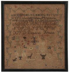 """Deborah Knabb 1836""""(?)"""