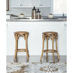 Counter Height Chairs, Stools For Kitchen Island, Counter Height Bar Stools, Bar Counter, Rustic Counter Stools, Kitchen Reno, Kitchen Remodel, Kitchen Ideas, Backless Bar Stools