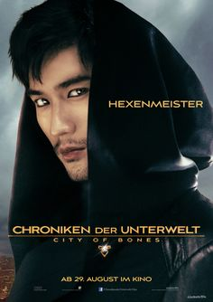 "Charakterposter ""Hexenmeister"" - Chroniken der Unterwelt - City of Bones - Ab 29.August 2013 im Kino!"
