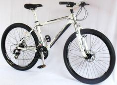 Rin 27.5 : Bicicleta Benotto 30-30 Blanca Rin 27.5 grupo Shimano frenos de disco Suspensión Benotto (Disponible)
