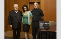 With sponsors, Elaine and George of Hairmates Salon in Stoneham, MA. See more at: www.leojmaloney.com