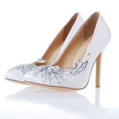 | Manolo Blahnik Bella's Breaking Dawn Wedding Shoes White | ╰დ╮♥╭დ╯