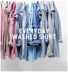 Mango: Everyday washed shirt | Milled