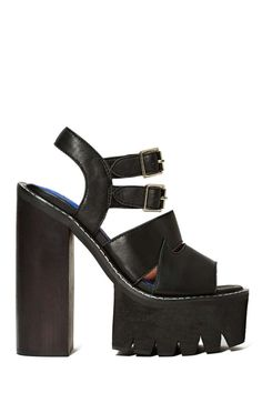 Jeffrey Campbell Beyond Platform - Jeffrey Campbell | Heels | Open Toe |  | Platforms | Sandals