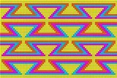 Schéma modèle gratuit Mochila Wayuu
