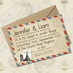 Choosing A Style For Your Wedding Invitations.    Image courtesy of Knots & Kisses