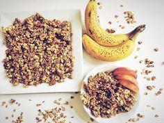 Vegan Banana Bread Granola (Oil-Free)   Plant Over Processed