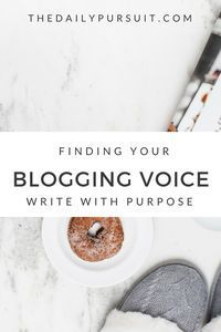 Finding Your Bloggin