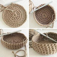 37 Ideas crochet poncho sweater pattern haken for 2019 Filet Crochet, Poncho Au Crochet, Crochet Stitches, Irish Crochet, Crochet Home, Diy Crochet, Crochet Baby, Crochet Basket Pattern, Crochet Patterns