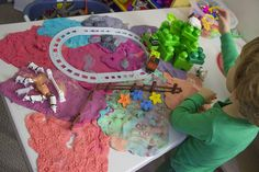 Homemade Playdoh. The glue that binds Duplo, Megablox, Lego, cows, dinosaurs, and siblings. http://www.unconventionaldad.com/homemade-playdoh-the-glue-that-binds-duplo-megablox-lego-cows-dinosaurs-and-siblings/ #funGames #playMatters #homemadePlaydoh #happyKid #science