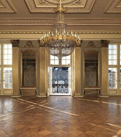 Crown Prince Frederik and Crown Princess Mary's home in Amalienborg Palace