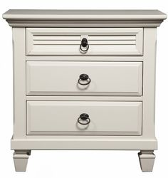 Winchester 3 Drawer Bachelor's Chest
