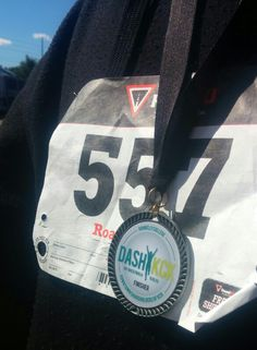 We did it! Our first 5k, and we even got medals to show for it!