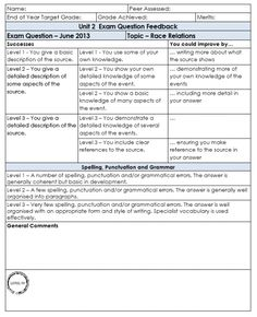 Marking Grid Template  Qts