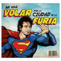 """Nena, nunca voy a ser un Superhombre. #Cerati  Ilustración en alta calidad aquí:…"""" Soda Stereo, My Rock, Rock And Roll, Rock Argentino, Man Of Steel, My Music, Pop Culture, Pop Art, Art Prints"""