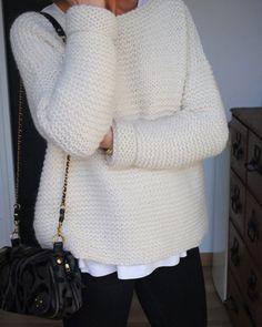 patron pour tricoter un pull