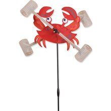 """Whirlygig Crab 12"""". Available at OurPamperedHome.com"""