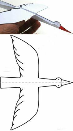 Cute Stork printable