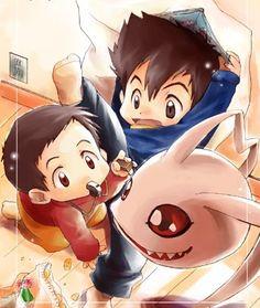 Taichi Hikari kid by darkgrim2012.deviantart.com on @deviantART