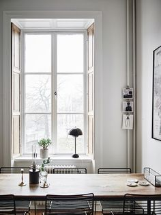 The best home office decor inspirations for your industrial home interior design Dining Room Inspiration, Home Decor Inspiration, Home Interior Design, Interior Architecture, Country Look, Swedish House, Scandinavian Home, Home And Deco, Home Office Decor