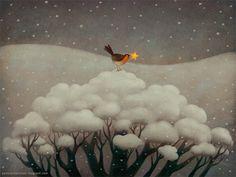 Children's book illustration by Paolo Domeniconi