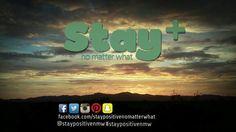 @staypositivenmw #staypositivenmw