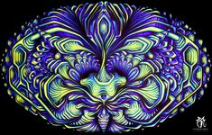 Fluorobotanics lyserdelic decos for psytrance parties Backdrops For Parties, Trippy, Plant Leaves, Paintings, Wallpapers, Paint, Painting Art, Wallpaper, Painting