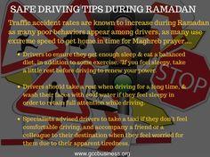 Safe driving tips during ramadan. #ramadankareem #ramadan #healthyfood #dubai #mydubai #gccnews #gccbusinesscouncil #gulf #middleeast  #oman #abudhabi #mena #qatar #bahrain #kuwait #holymonth #blessings #saudiArabia #muslims #prayers #fasting  #eid #ramadanMubarak #ramadanTips #tips #islam #traffic #safety #driving