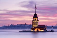 16 Incredible Lighthouses Around The World Istanbul City, Istanbul Turkey, Mecca Kaaba, Beautiful Places, Beautiful Pictures, Stunning Wallpapers, Hagia Sophia, Turkey Travel, City Landscape