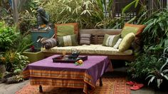 Balinese Daybed Design Ideas, Pictures, Remodel and Decor http://www.houzz.com/Balinese-daybed