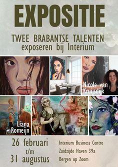 Expositie Nicole van Kruijsdijk en Liana Romeijn