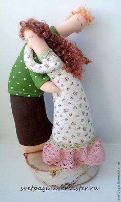 Купить Влюбленные/подарок влюбленным/подарок на свадьбу - тёмно-зелёный, розовый, влюбленная пара, влюбленные, влюбленным