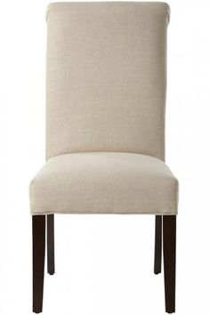 Custom Rolled-Back Parsons Chair - Dining Chairs - Kitchen And Dining Room Furniture - Furniture | HomeDecorators.com