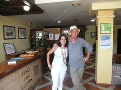 Christ Stewart & Gloria in Hotel Finca Los Llanos, Capileira.