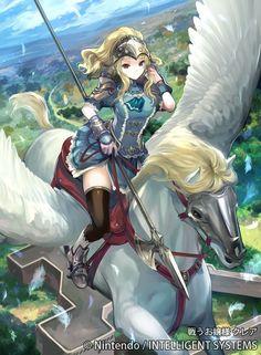 Ilustraciones completas - Clair - Artworks e imágenes - Galería Fire Emblem Wars Of Dragons