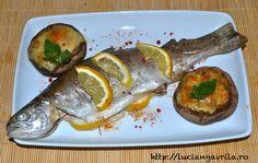 Păstrăv la cuptor / Oven baked trout