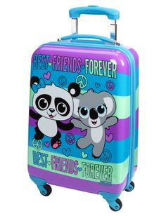 Critter Hard Shell Suitcase | Girls Fashion Bags & Totes Accessories | Shop Justice